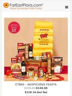 🚚 $158 Far East Flora Auspicious Feasts CTB05 CNY hamper