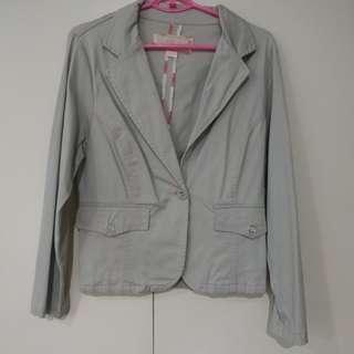 Light Gray Dress Jacket