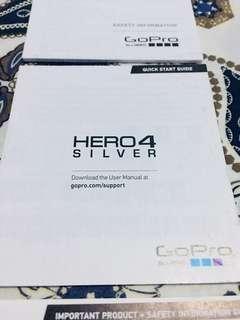 Go-Pro hero4 silver edition