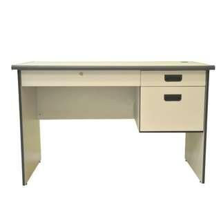 Grey Desk Study Table with Drawers