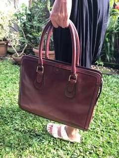 Aigner Vintage Red Bag