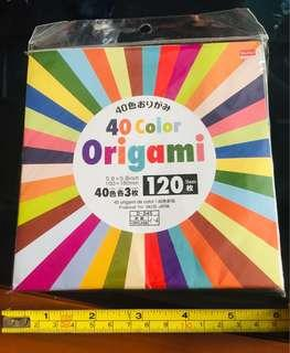 Origami  Paper, 40 colours, 120 sheets! Multipurpose use!