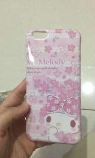 Casing iphone 6 plus my melody pink