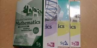 Effective Learing Mathematics 4B 5A 5B