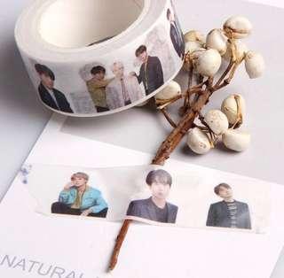 BTS washi tape
