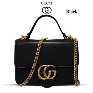 Gucci black sling bag