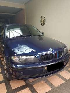 Jual BMW 318i Tahun akhir 2003 Mulus Murah Antapani Bandung