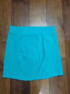 Forever21 Teal Skirt