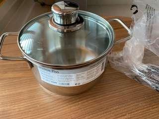 WMF Diadem plus 16 cm casserole pot with lid