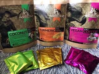 Organic Vegan, Turmeric and Coconut Black Rice Coffee
