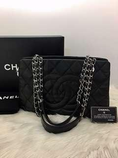 Authentic Chanel Tote Bag Caviar