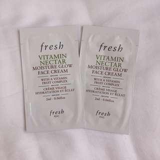 Fresh Vitamin Nectar Face Cream Samples