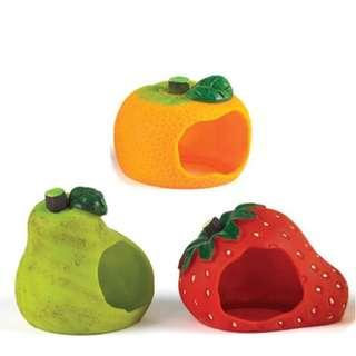 Classic Fruity House Hideout for Small Animals
