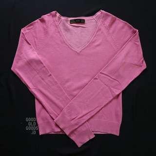 Zara Pink Knit Sweater