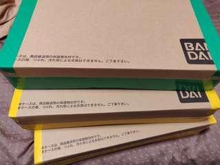 全新未開封龍珠超 carddass 33 34 35 36 37 38  box set 行貨