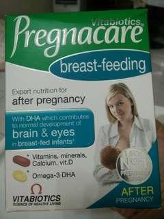 Supplement for breast feeding mum