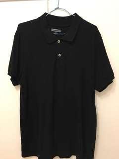 🚚 男款黑色Polo衫