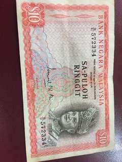 Old RM10 notes