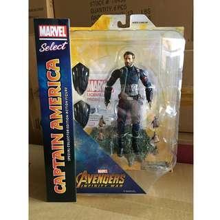 全新正版Marvel Select Captain America DC Legends SHF Mafex Neca Mezco Avengers