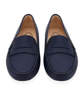332284143f2 TOD S Gommino Driving Loafers in Navy  Dark Blue