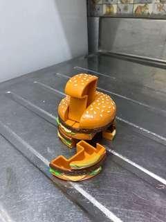 童年 麥當勞 漢堡包 玩具