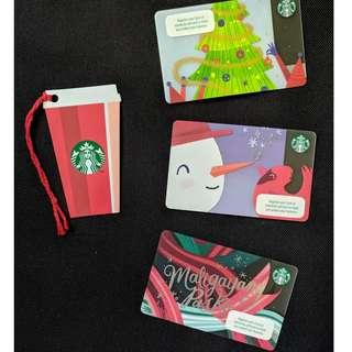 Starbucks Cards - 2018 Christmas Season