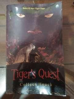 Novel Tiger's Quest karya Collen Houck