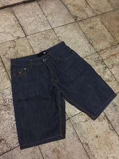 Shorts / Celana Pendek Denim Evil Army