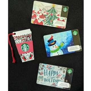 Starbucks Cards - 2016-2017 Christmas Season