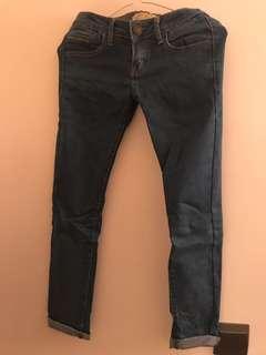 韓國窄身牛仔褲(有彈性)26腰