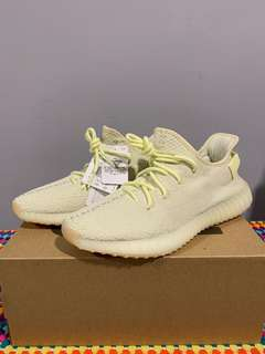 758b30d0f0180 Auth Yeezy 350 yellow   butter
