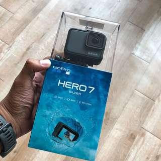 GOPRO HERO 7 SILVER BRAND NEW!