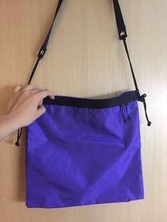 日本東京購入 FREDRIK PACKERS 紫色斜咩袋 Japan Tokyo crossbody tote
