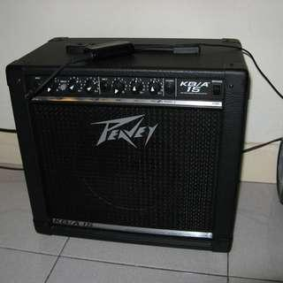 WTS: Compact 15W 2-channel Keyboard/acoustic Guitar Amplifier - Peavey KB/A 15
