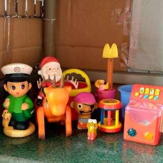🚚 可愛卡通玩具模型組