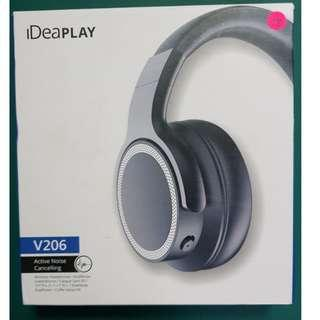 iDeaPLAY V206 Headphone with Active Noise Cancellation