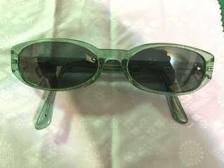 Byblos 兒童太陽眼鏡 閃亮淡藍綠色 children sunglasses 無度數#一百均價