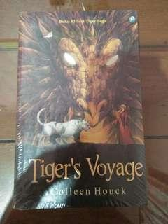 Novel Tiger's Voyage karangan Colleen Houck