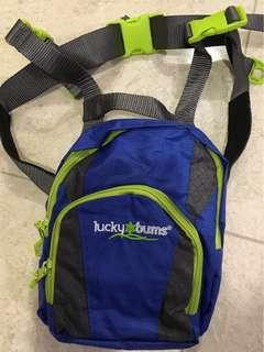 Luckybum ski backpack and harness (children 2-7yrs)