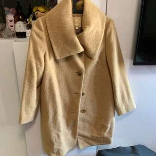 Beams camel coat