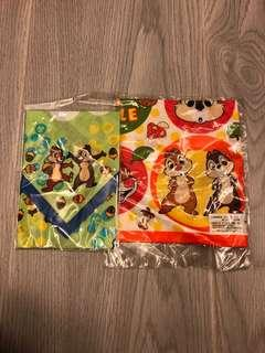 Made in Japan Chip n Dale 手拍 100%日本製 Cotton (包$4平郵)