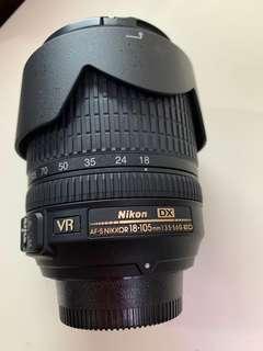 Nikon AF-S DX Nikkor 18-105mm f3.5/5.6G ED