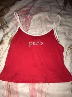 red singlet paris