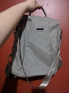 Water resistant Nylon Beige or Taupe Bag
