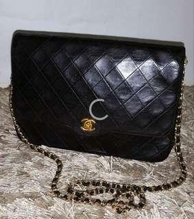 Chanel Lambskin Sling and Clutch