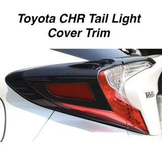 Toyota CHR Tail Light Cover Trim (4pcs)