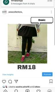Muslimah Mini Skirt (BASIC)