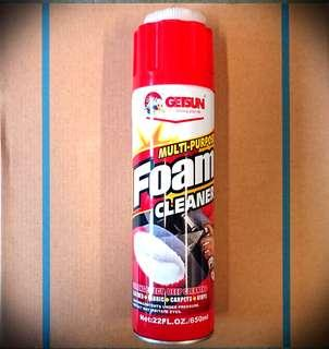 Multi Purpose Foam cleaner for Leather, Fabric, Carpets, Vinyl