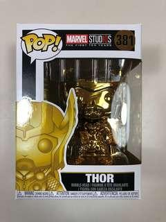 Thor Gold Chrome Marvel Studios First 10yrs