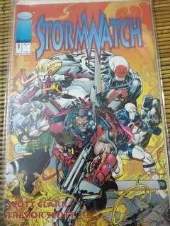 Stromwatch issue #1..rare item for collection